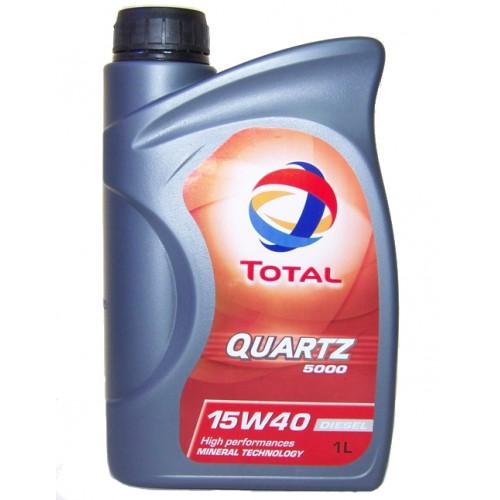 Ulei motor Total Quartz 5000 Diesel 15W40 1L