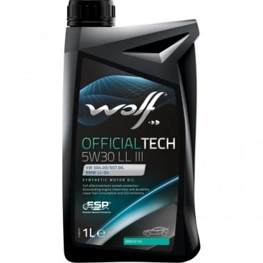 Ulei motor Wolf Officialtech 5W30 LL-III 1L