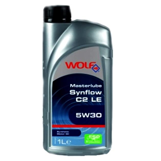 Ulei motor Wolf Masterlube Synflow C2 LE 5W30 1L