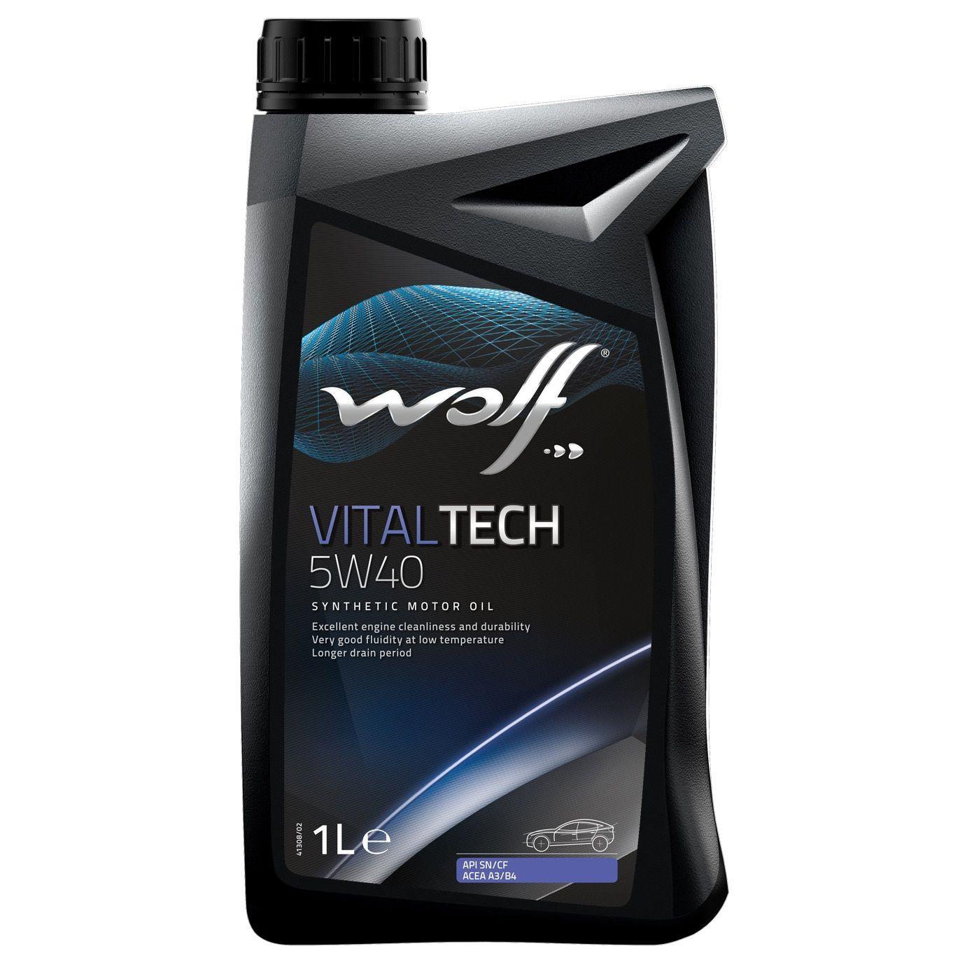 Ulei motor Wolf VitalTech 5W40 1L