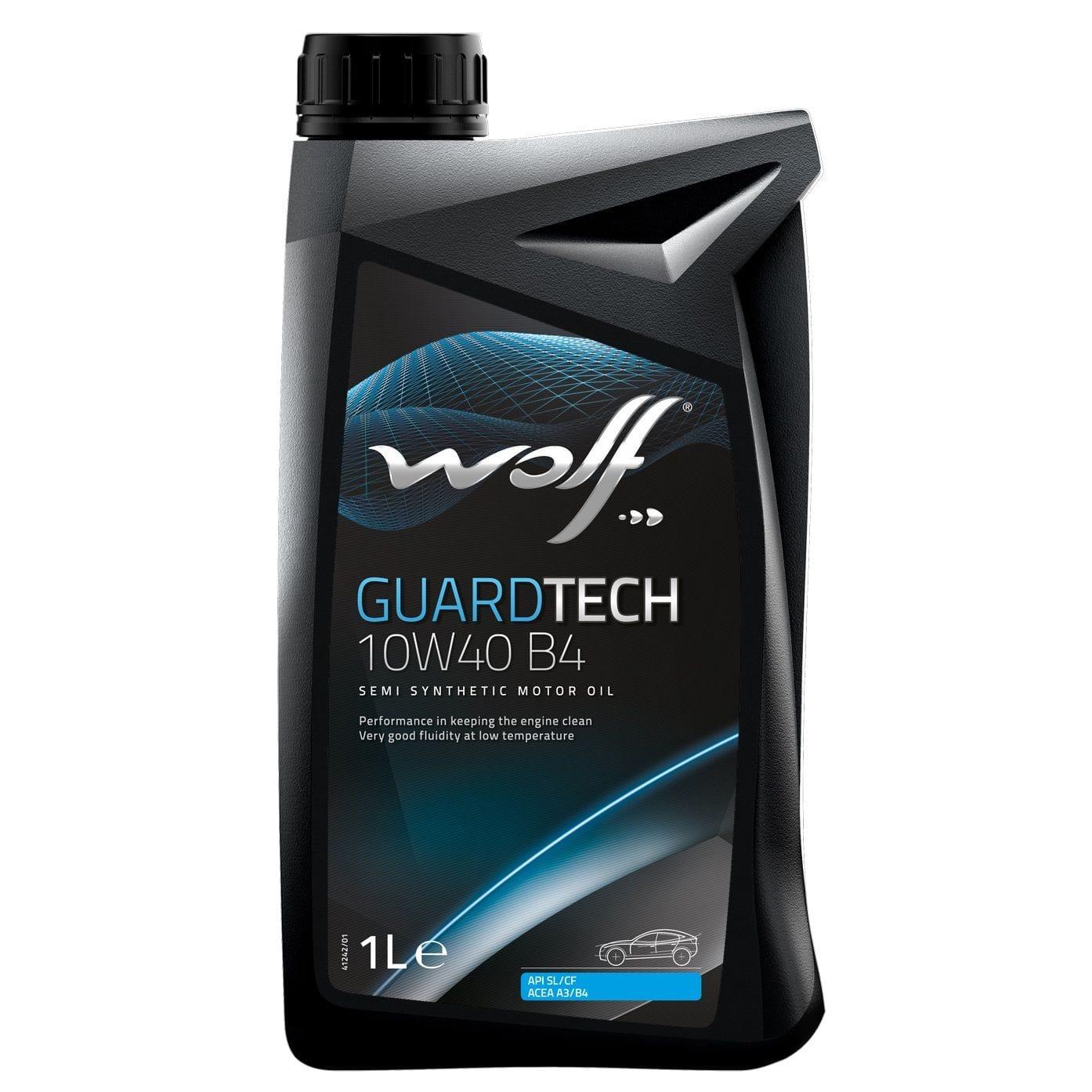 Ulei motor Wolf GuardTech B4 10W40 1L