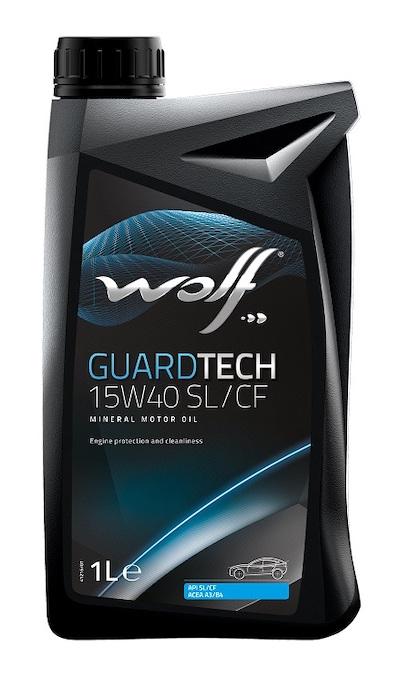 Ulei motor Wolf GuardTech 15W40 SL/CF 1L