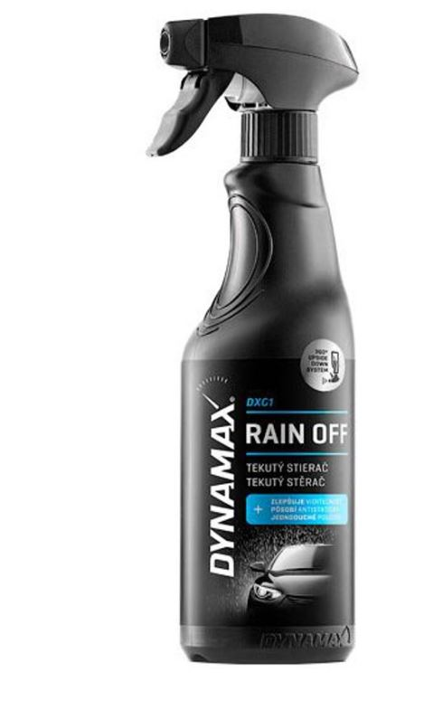 Solutie curatare geamuri Dynamax tratament anti ploaie 500ml