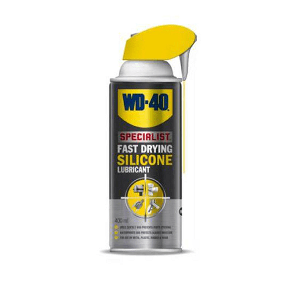 Spray lubrifiant auto cu silicon WD-40 Fast Drying  400ml