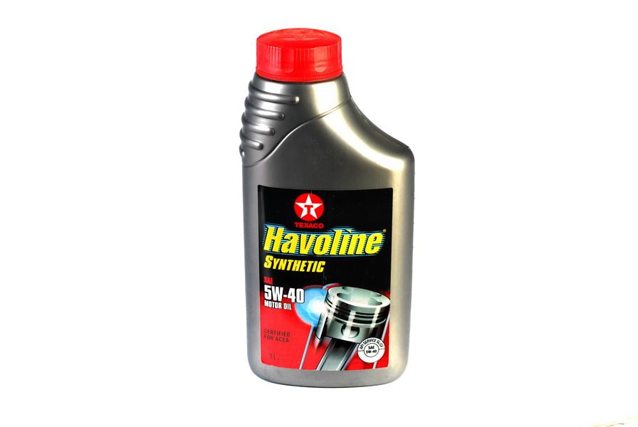 Ulei motor Texaco Havoline Synthetic 5W40 1L