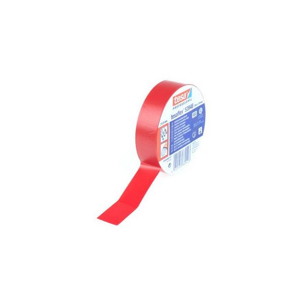 Banda izolatoare Tesa 20m/19mm rosu