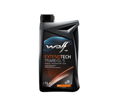 Ulei cutie viteze manuala Wolf Extendtech 75W80 1L