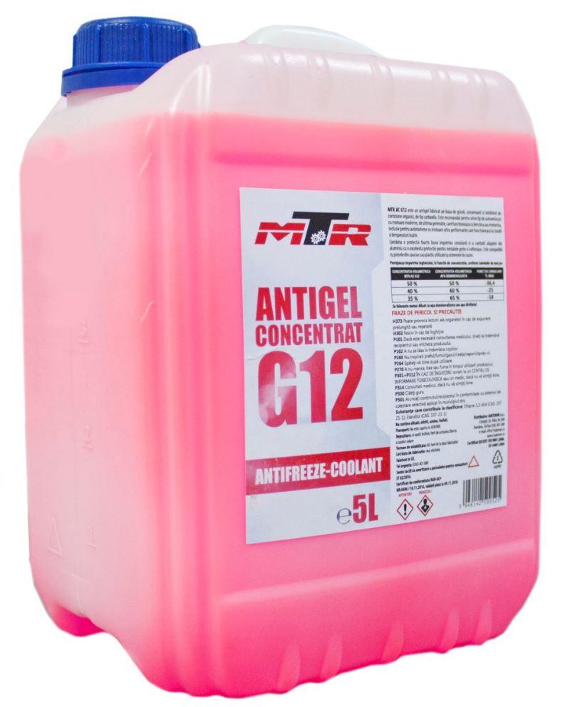 Antigel concentrat MTR G12 5L
