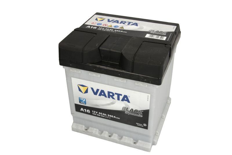 Baterie auto Varta A16 Black Dynamic 40Ah 12V 540406034