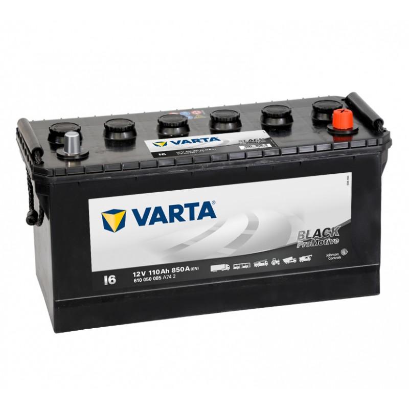 Baterie camion Varta Promotive Black L6 110Ah 12V 850A