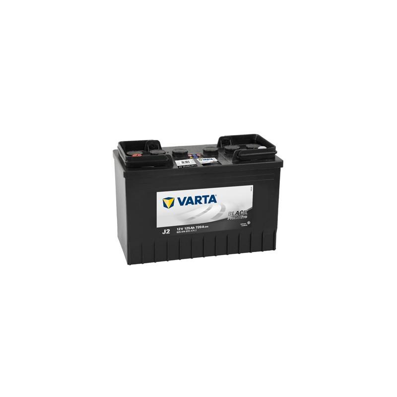 Baterie auto Varta Promotive Black J2 12V 125Ah 720A