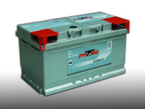 Baterie auto MTR LB4 80Ah 12V AC00080