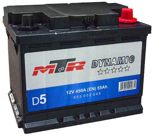 Baterie auto MTR Dynamic L2 55Ah 12V