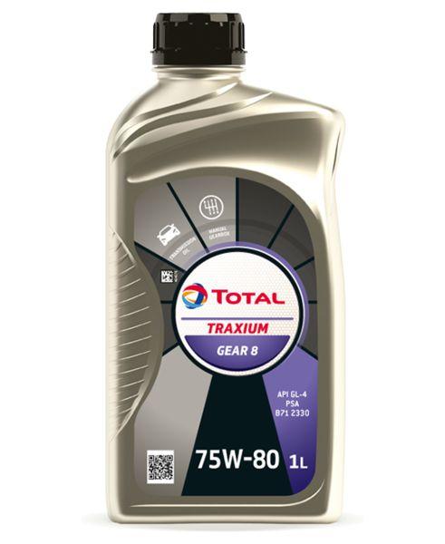 Ulei cutie viteze manuala Total Gear 8 75W80 1L