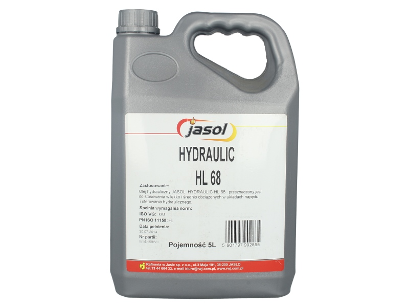 Ulei hidraulic Jasol Hydraulic HL 68 5L
