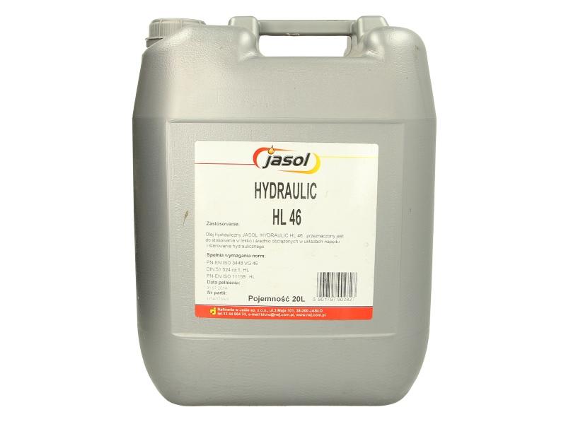 Ulei hidraulic Jasol Hydraulic HL 46 20L