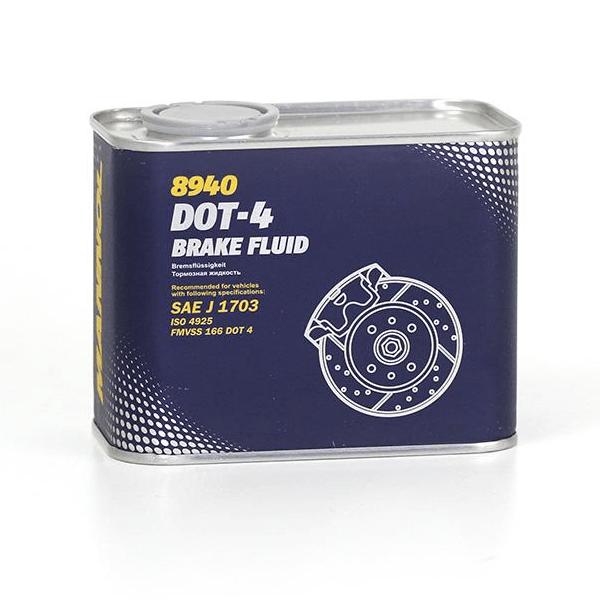Lichid frana Mannol DOT4 0.5L