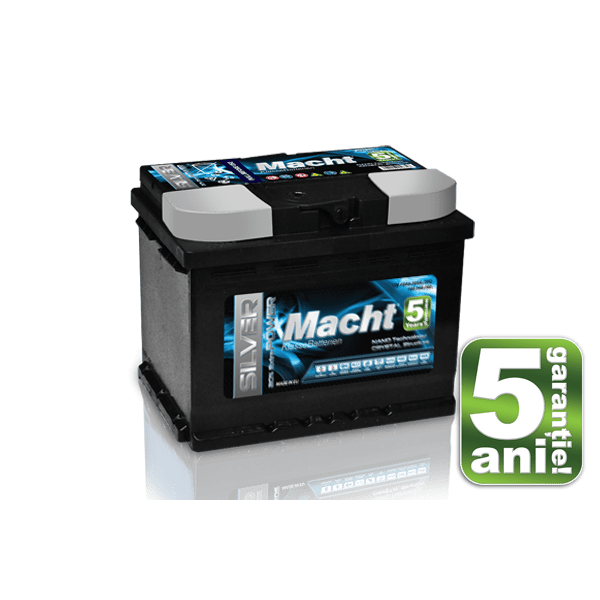 Baterie auto Macht Silver Power 90Ah 12V 850A