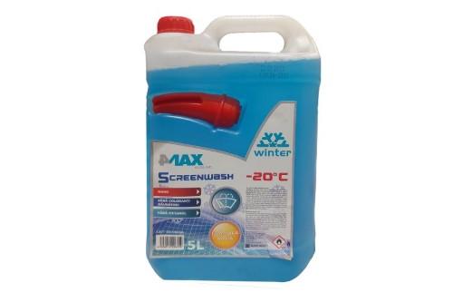 Lichid parbriz iarna concentrat 4Max -60°C 5L