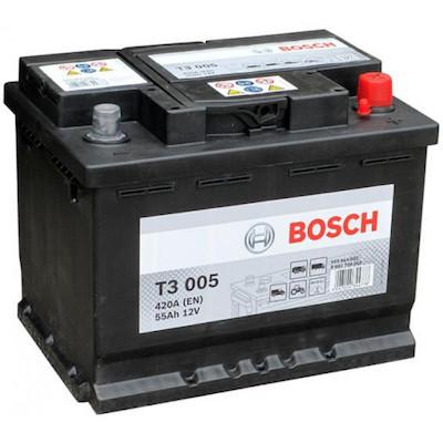 Baterie camion Bosch T3 55Ah 12V 0092T30050