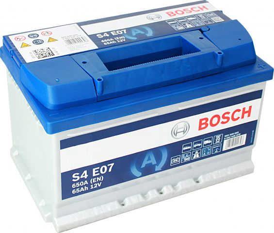Baterie auto Bosch S4 65Ah 12V 0092S4E070