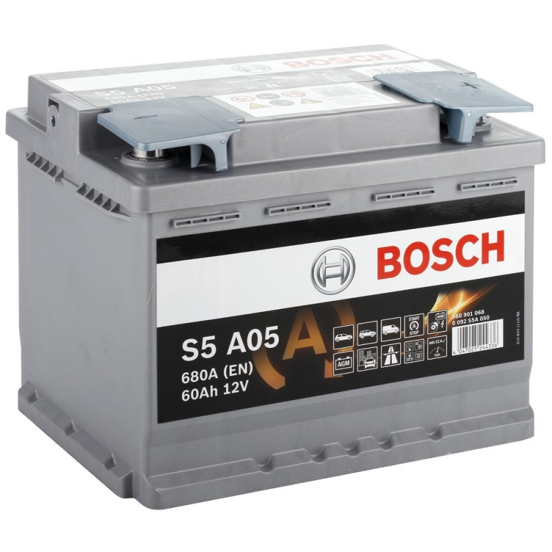 Baterie Auto Bosch S5 60ah 12v 0092s5a050