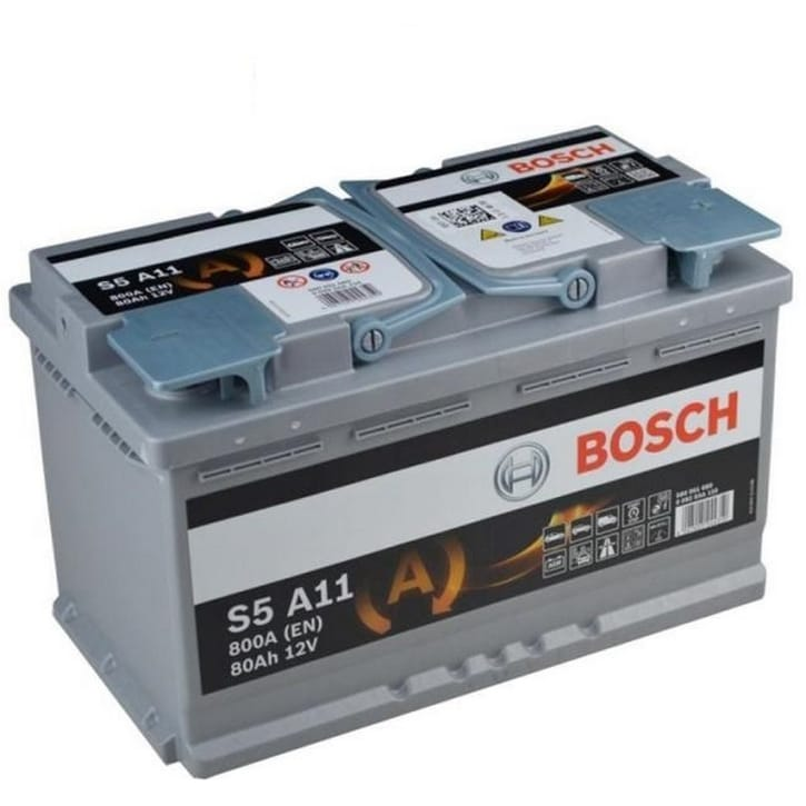 Baterie auto Bosch S5 80Ah 12V 0092S5A110