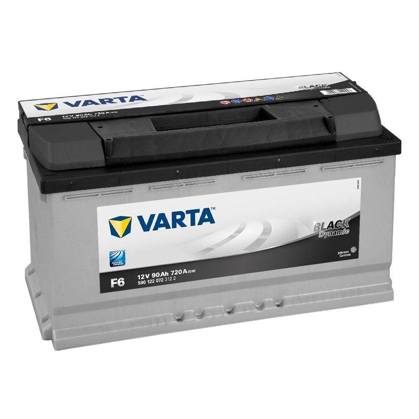 Baterie auto Varta F6 Black Dynamic 90Ah 12V 590122072