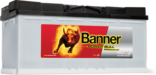 Baterie auto Banner Power Bull PROfessional 100Ah 12V PROP10040