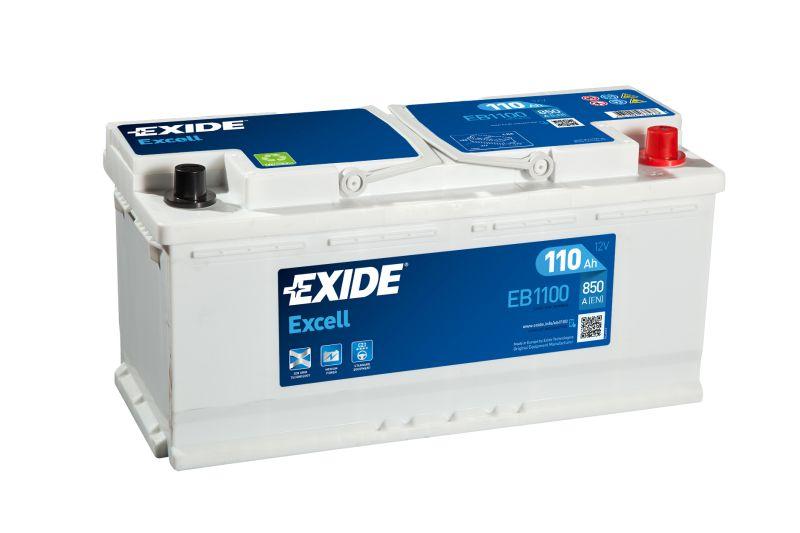 Baterie auto Exide Excell 110Ah 850A 12V EB1100