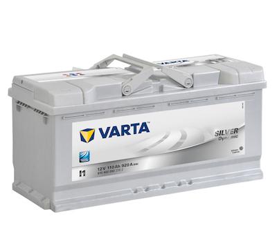 Baterie auto Varta I1 Silver Dynamic 110Ah 12V 610402092