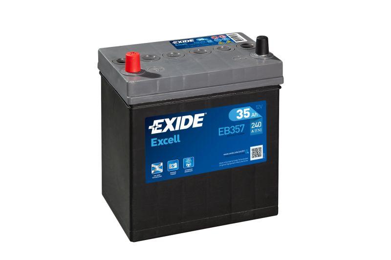 Baterie auto Exide Excell 35Ah 12V EB357