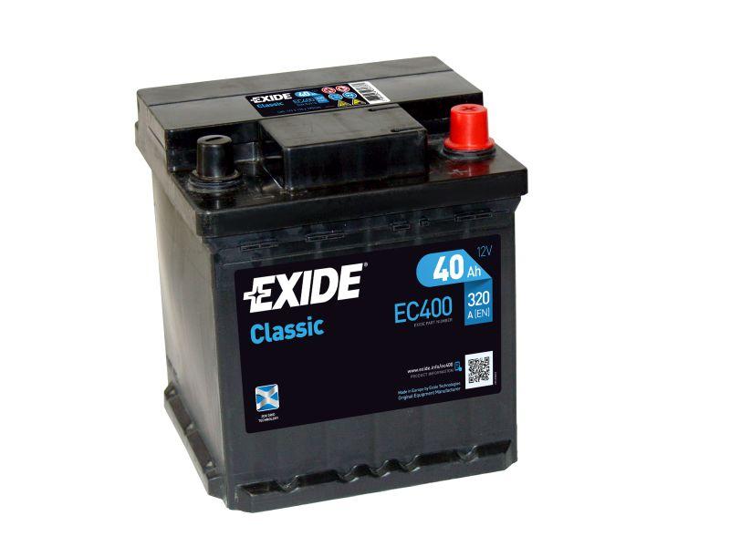 Baterie auto Exide Classic 40Ah 12V EC400