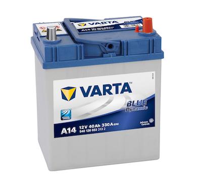 Baterie auto Varta A14 Blue Dynamic 40Ah 12V 540126033