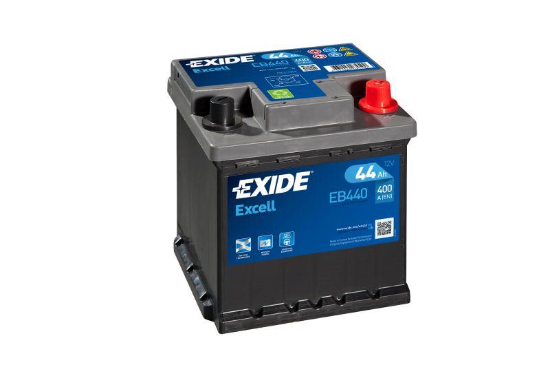 Baterie auto Exide Excell 44Ah 12V EB440