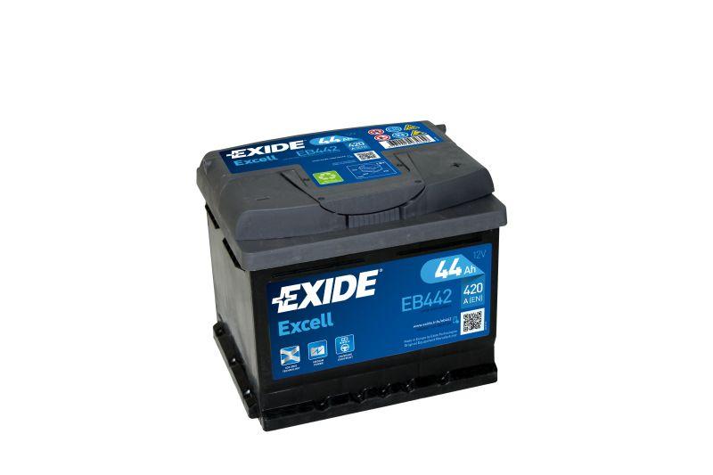 Baterie auto Exide Excell 44Ah 12V EB442