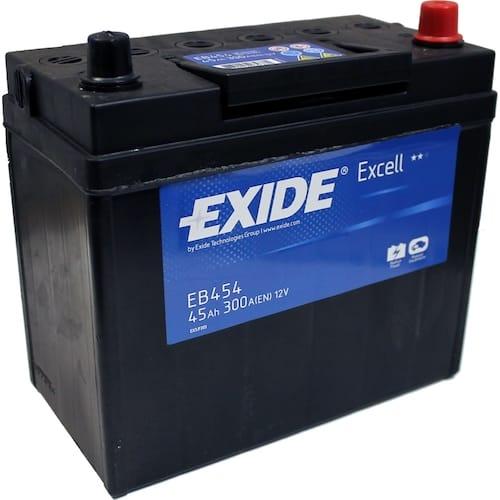 Baterie auto Exide Excell 45Ah 12V EB454
