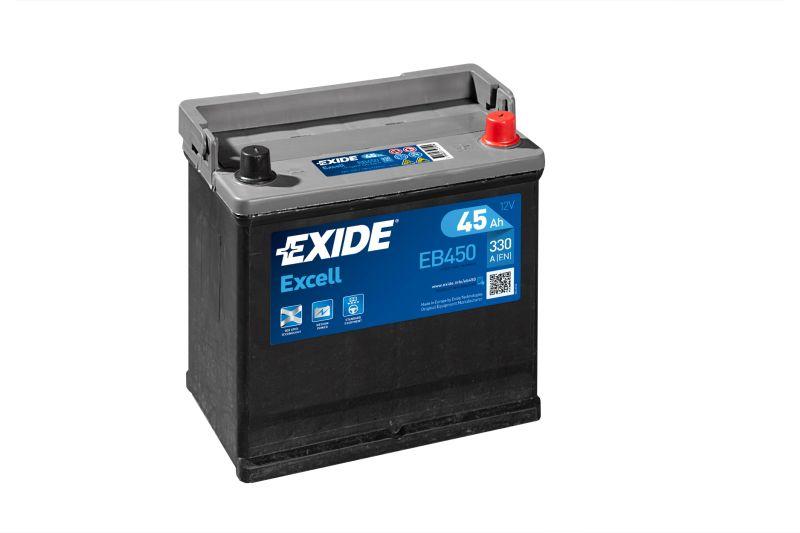 Baterie auto Exide Excell 45Ah 12V EB450