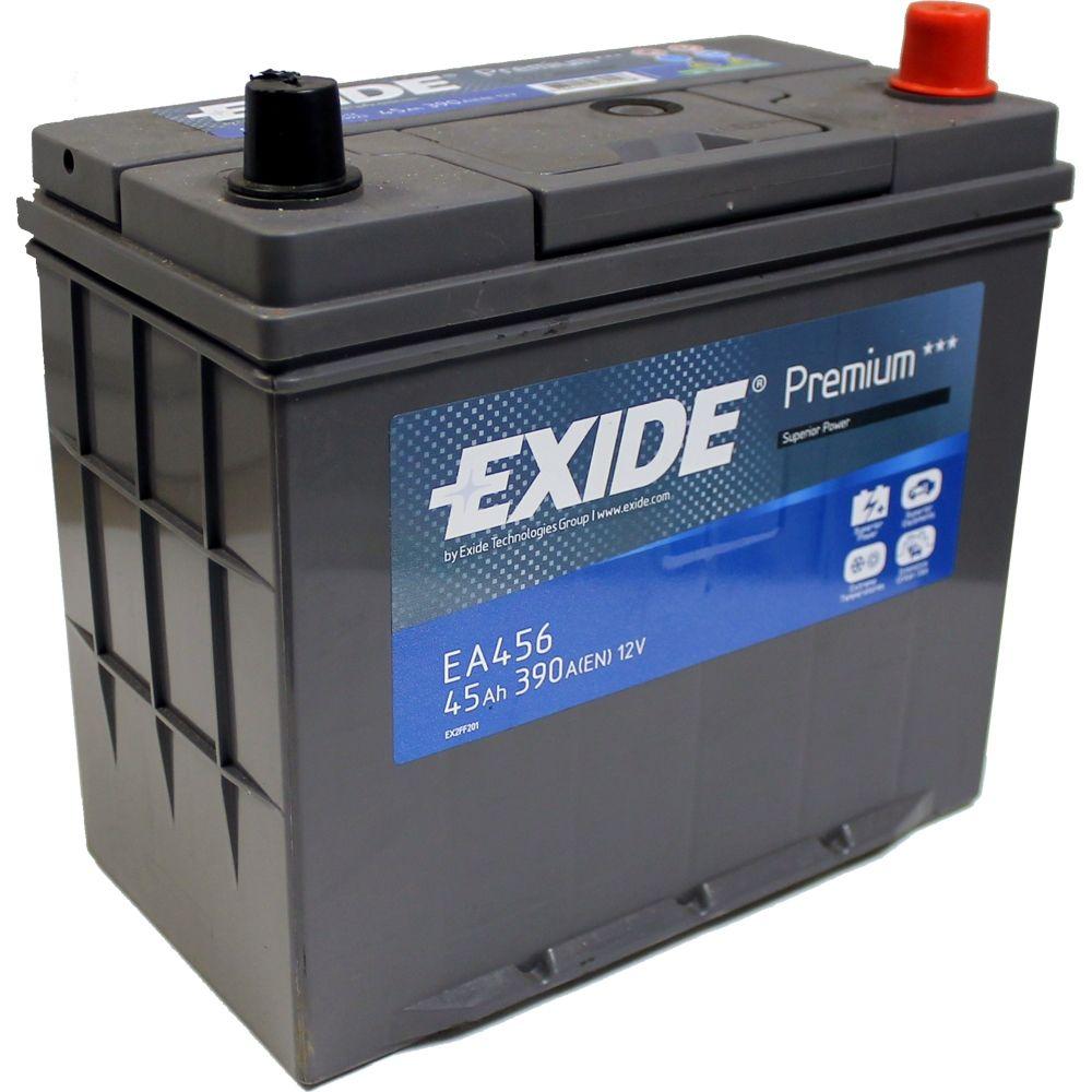 Baterie auto Exide Premium 45Ah 12V EA456