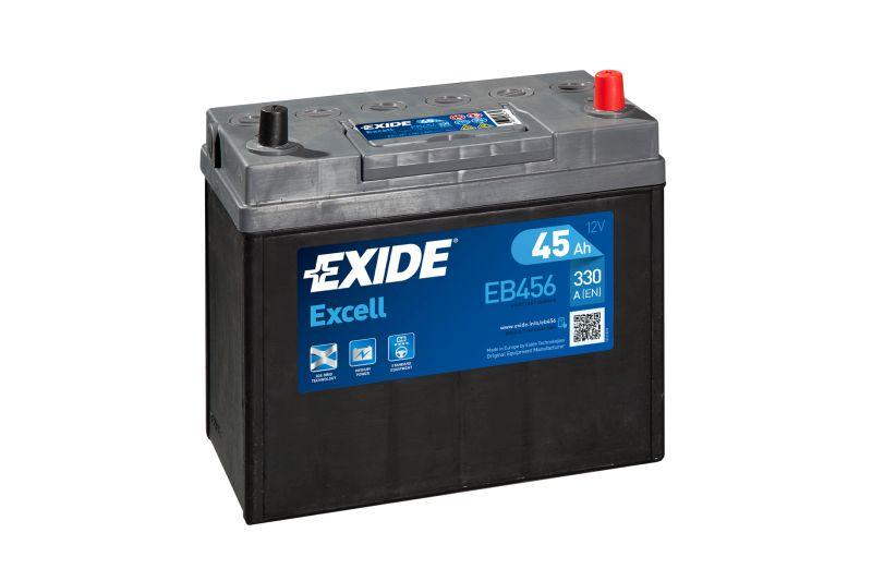Baterie auto Exide Excell 45Ah 12V EB456