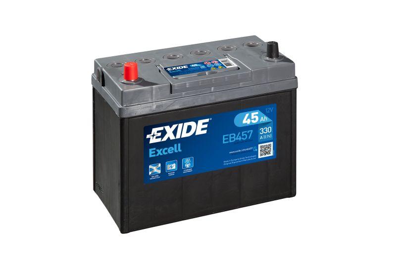 Baterie auto Exide Excell 45Ah 12V EB457