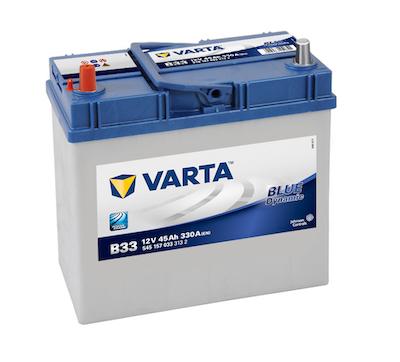 Baterie auto Varta B33 Blue Dynamic 45Ah 12V 545157033