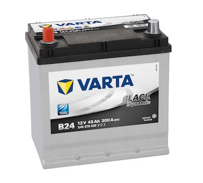 Baterie auto Varta B24 Black Dynamic 45Ah 12V 545079030