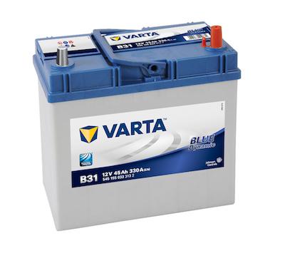 Baterie auto Varta B31 Blue Dynamic 45Ah 12V 545155033
