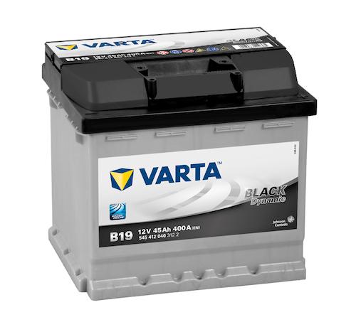 Baterie auto Varta B19 Blac Dynamic 45Ah 12V 545412040