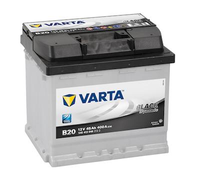 Baterie auto Varta B20 Black Dynamic 45Ah 12V 545413040
