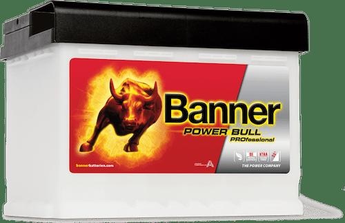 Baterie auto Banner Power Bull PROfessional 50Ah 12V P5040