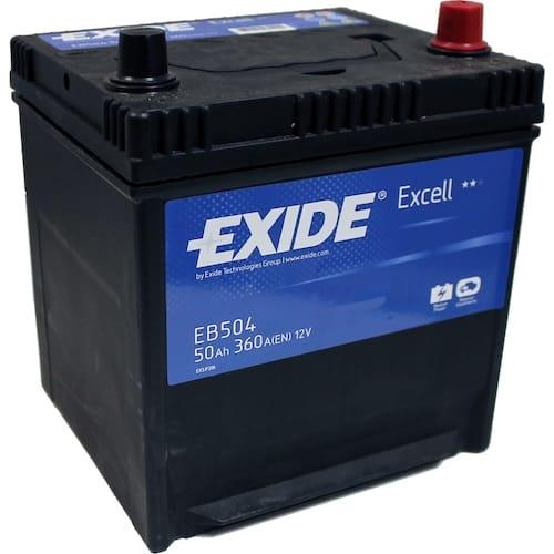 Baterie auto Exide Excell 50Ah 12V EB504