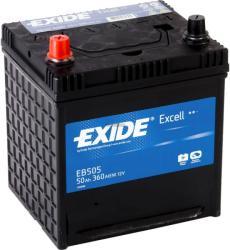 Baterie auto Exide Excell 50Ah 12V EB505