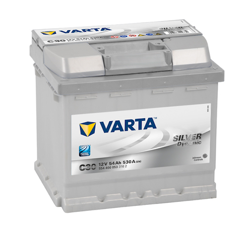Baterie auto Varta C30 Silver Dynamic 54Ah 12V 554400053